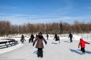 skating beaver lake