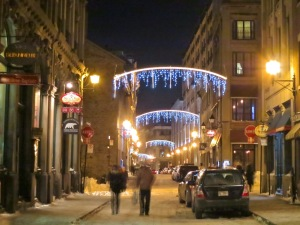 icicle christmas lights old montreal