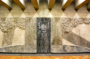 Art at Pie-IX metro