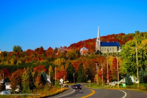 Victoriaville in October
